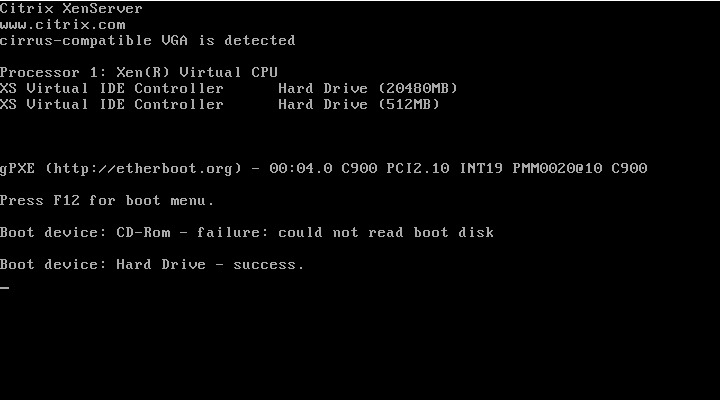 gPXE Boot